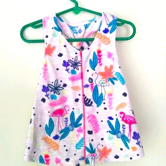 Cat&Jack colorful girl Tank Top Size 4T